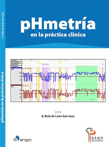 Portada del libro 'pHmetría en la práctica clínica' Fuente: Hospital Clínico San Carlos