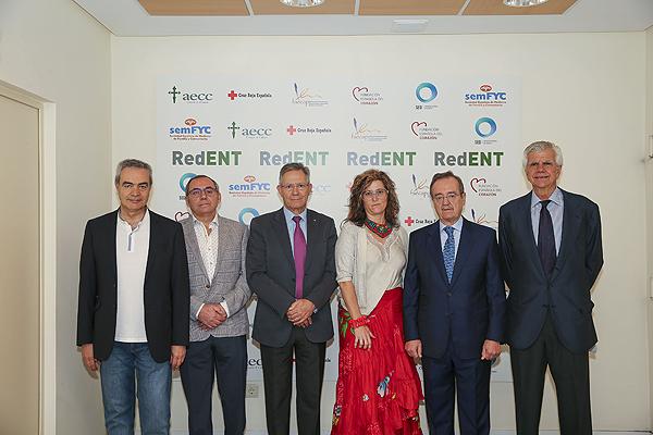 Imágenes de la presentación de la nueva red Fuente: RedENT / Fundación Española del Corazón