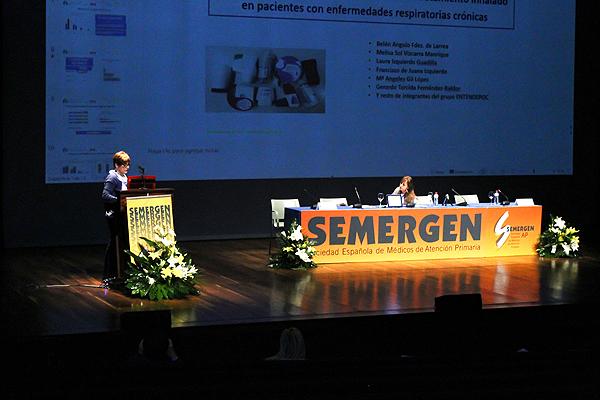 Una sesión de las Jornadas de Respiratorio de SEMERGEN en las que se han conocido detalles de GOLD 2019