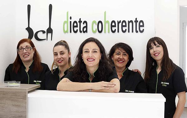 Equipo de Dieta Coherente  Fuente: Dieta Coherente / Oxímoron Comunicación