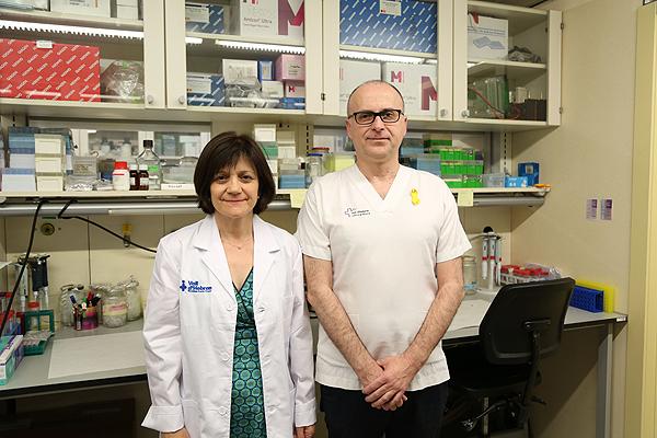 Los Drs. Francina Munell y Ramon Martí Fuente: VHIR / Hospital Vall d'Hebron