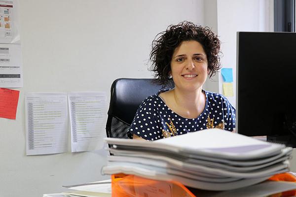La investigadora Núria Voltas Fuente: URV