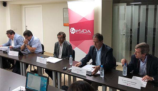 Presentación de los datos recogidos Fuente: GeSIDA / Euromedia Grupo
