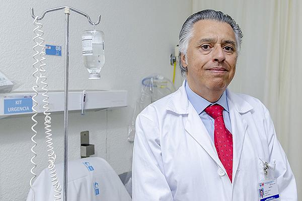 Dr. Javier Carbone Fuente: Hospital Gregorio Marañón