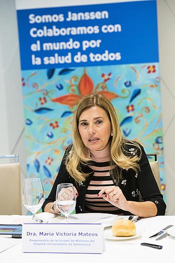 La Dra. María Victoria Mateos Fuente: Janssen / Cícero Comunicación