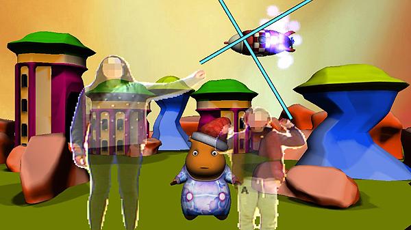 Captura de una imagen del videojuego Pico's Adventure, nivel 3 Fuente: UPF
