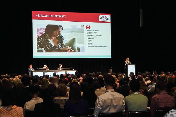 Una sesión de ESMO 2019, en Barcelona Fuente: ESMO