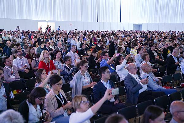 Asistentes a ESMO 2019, en Barcelona Fuente: ESMO