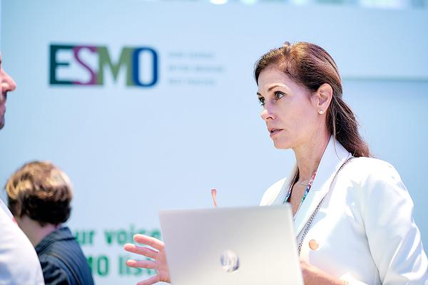 Una conversación de ESMO 2019, en Barcelona Fuente: ESMO