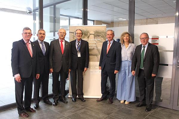 Participantes en el Congreso de médicos jubilados OMC / Fundación para la Protección Social / Ilunion