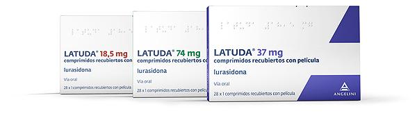 Latuda (hidrocloruro de lurasidona) Fuente: Angelini / Docor Comunicación