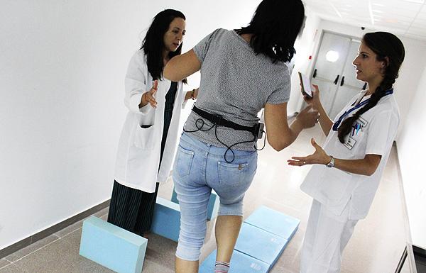 Uso del novedoso dispositivo Fuente: Hospital Universitario de Torrevieja / Ribera Salud Grupo