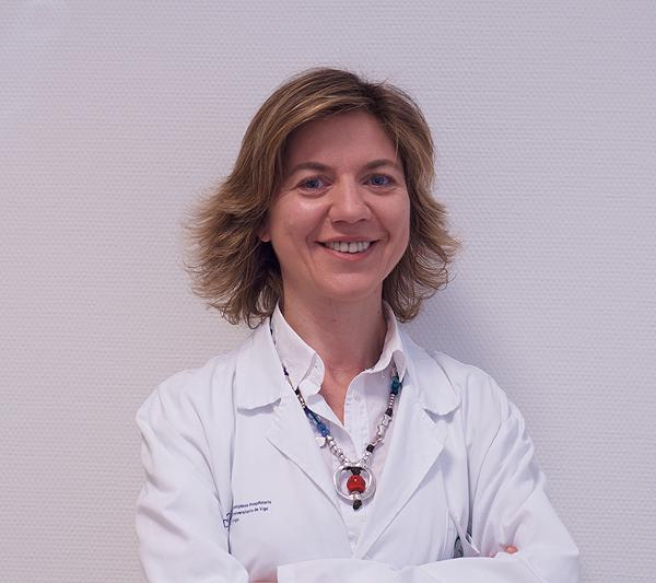 Dra. María Torres Durán Fuente: Dra. Torres Durán / Complejo Hospitalario Universitario de Vigo
