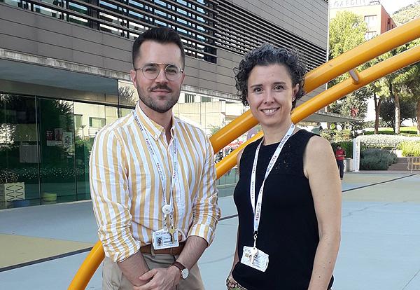 Drs. Antonio Martínez-Monseny y Mercedes Serrano  Fuente: Hospital Sant Joan de Déu Barcelona