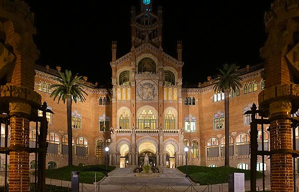 Hospital de Sant Pau Autor/a de la imagen: Enric Arandes Fuente: E. Arandes / www.farmacosalud.com