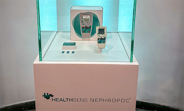 HEALTHSENS Nephropoc® Fuente: HEALTHSENS / Planner Media