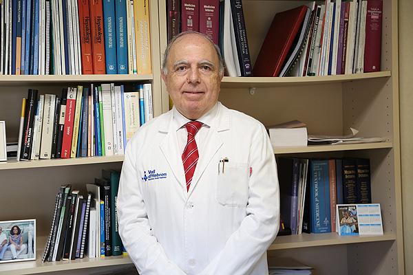 Dr. Víctor Vargas Fuente: CIBEREHD / CIBER (Consorcio Centro de Investigación Biomédica en Red, M.P.)