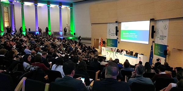 Un escenario de la reunión científica Fuente: Menarini / Planner Media