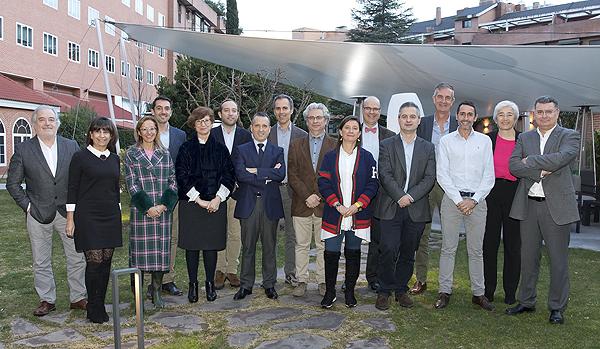 Foto de familia de la reunión del CTD Fuente: Grupo CTD