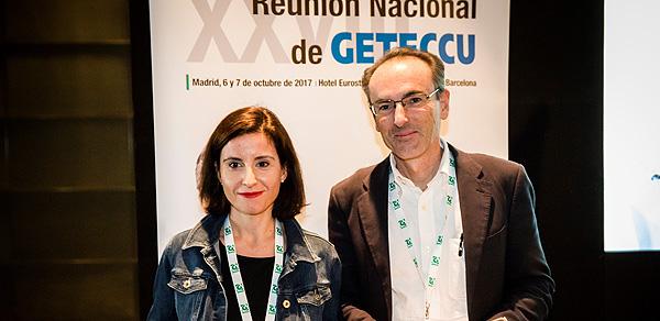 Drs. María Chaparro y Javier P. Gisbert Fuente: Dra. Chaparro