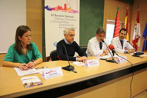 Rueda de prensa del Congreso Fuente: Sociedad Española de Nefrología / Euromedia Grupo