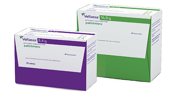Veltassa® (patiromer) Fuente:  Vifor Pharma / Cícero Comunicación