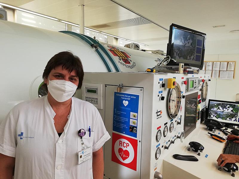 Las intoxicaciones de CO por fumar en pipas de agua pueden hacer necesario el tratamiento con cámara hiperbárica